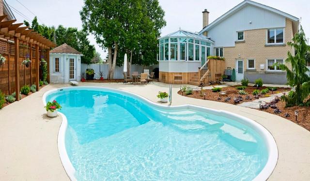 A Backyard Retreat Modern Sunroom Other By