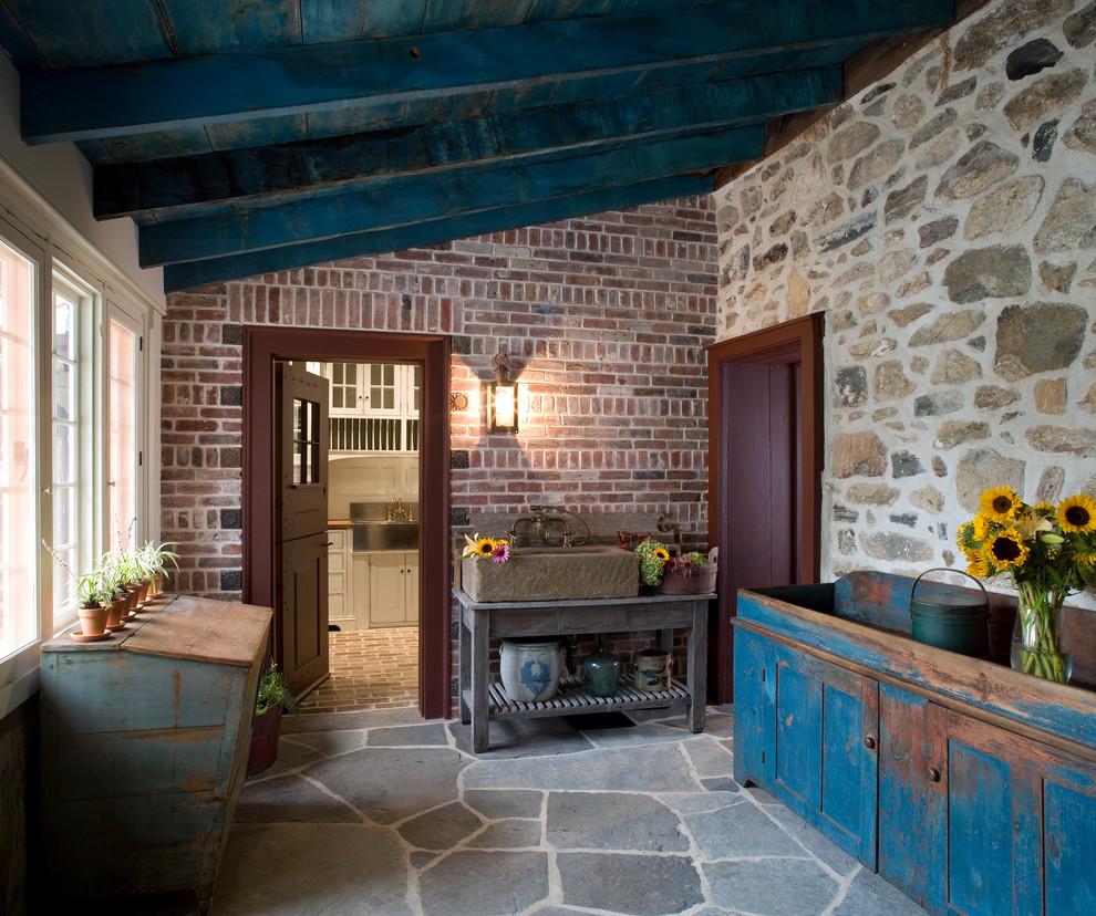 Example of a cottage sunroom design in Philadelphia