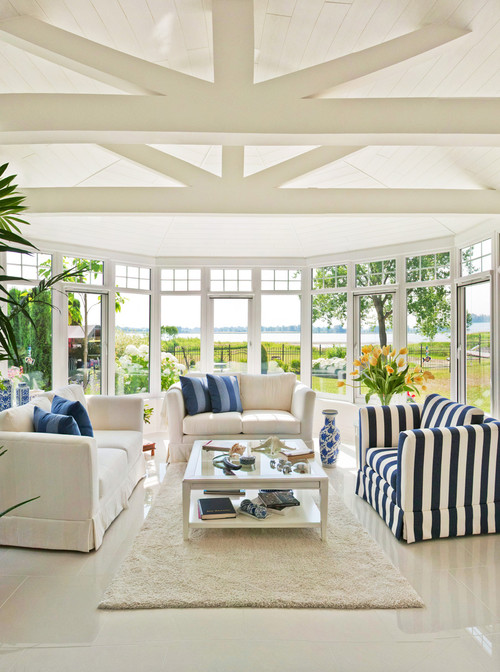 Get inspired 10 sunny sun rooms how to nest for less - Sunroom off kitchen design ideas ...