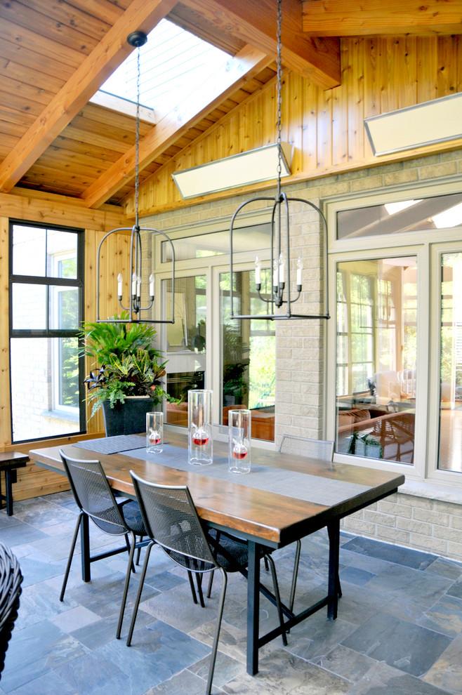 Backyard Retreat - Rustic - Sunroom - Other - by Richard ...
