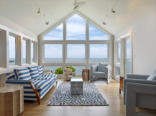 Dem Meer ganz nah! 10 Tipps für Wohnzimmer im maritimen Stil