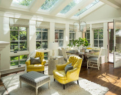 Bywood Street Residence transitional-sunroom