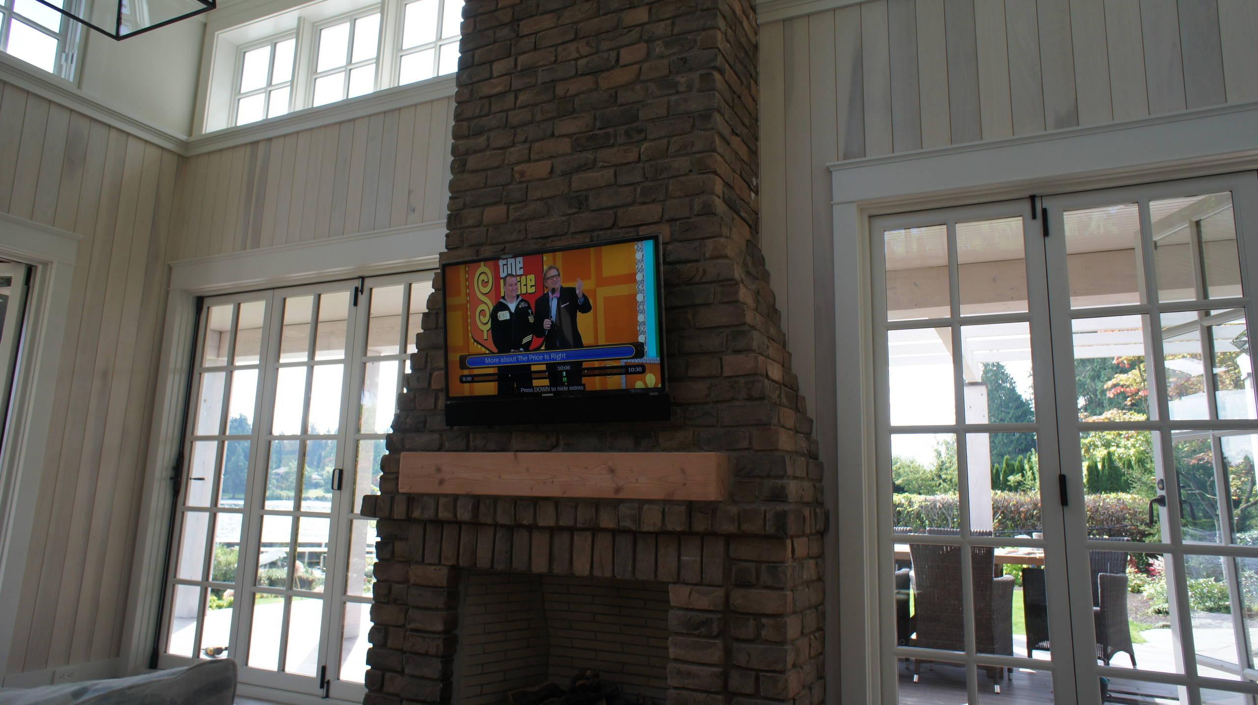Cabana with TV