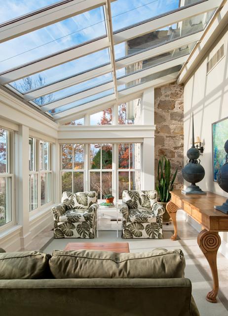Caledon Residence - Traditional - Sunroom - Toronto - by Brenda Liu ...