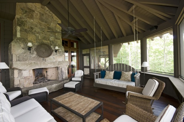 Campbell traditional-sunroom
