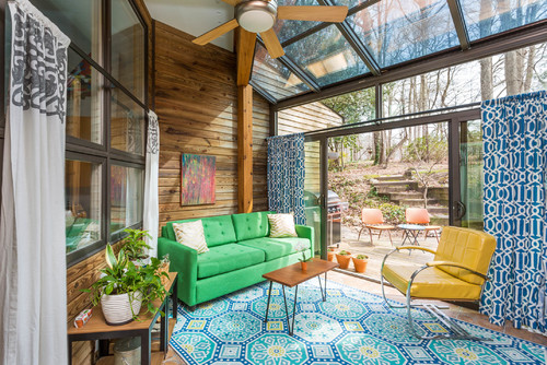 Mid century makeover: 4 must haves for modern eclectic living rooms