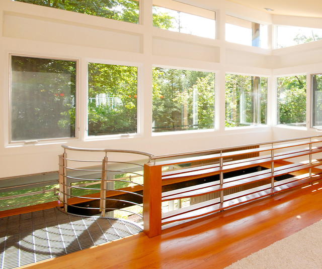 Cedar house brookline ma modern sunroom boston by for Cedar sunroom