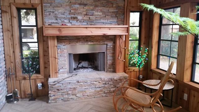 Cedar Screen Porch