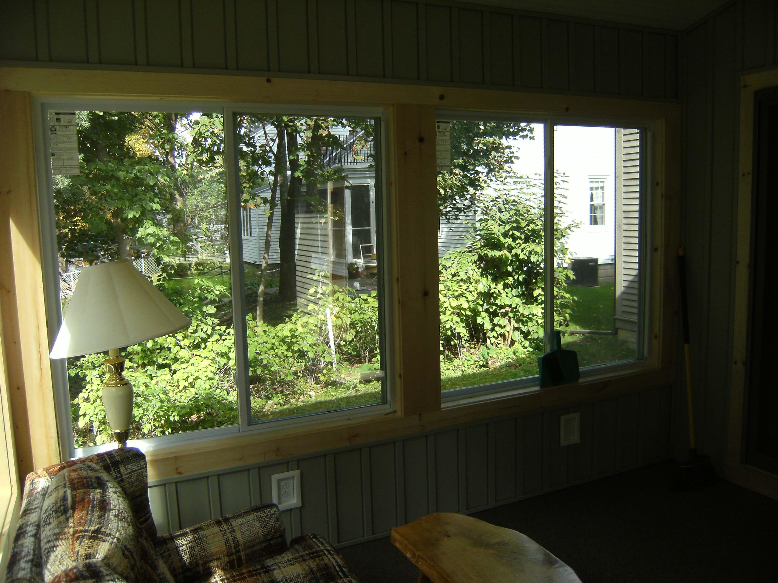 Cedar Sunroom