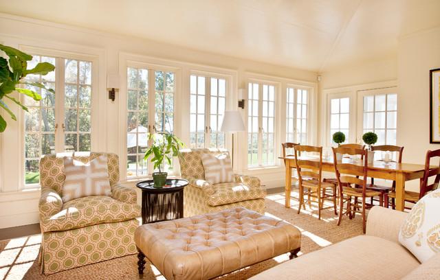 Colonial farmhouse farmhouse sunroom new york by for Farmhouse sunroom ideas