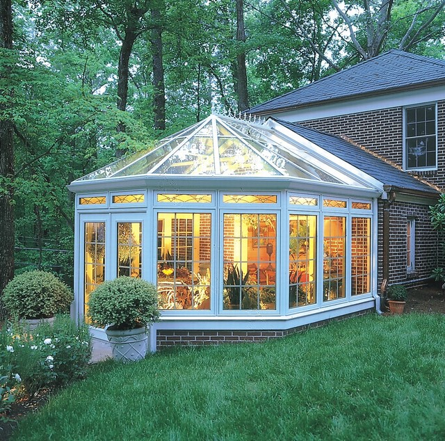 House Additions Ideas A Sunroom Over The Ravine: Conservatories