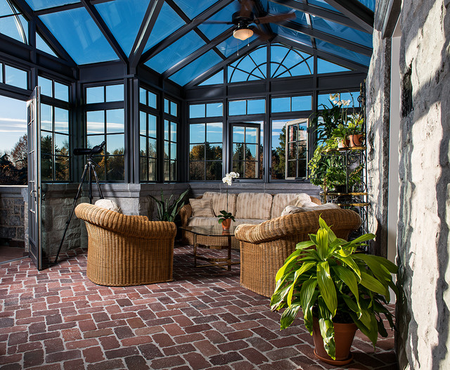 Conservatory Amp Greenhouse Traditional Porch Denver