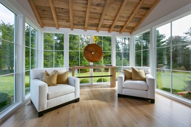Contemporary Gables Westport Ct Transitional Sunroom