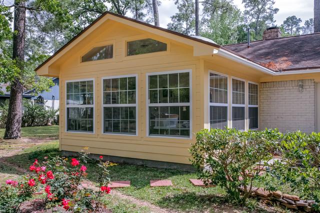 Cottage Studio And Sunroom Addition