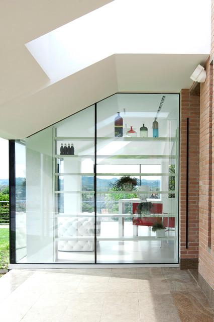 Cucina di vetro - Contemporaneo - Veranda - Torino - di ARCHICURA ...
