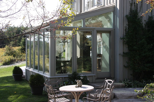Custom glass porches for Glass house additions