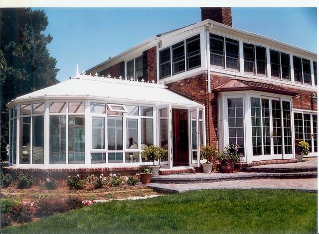 English Conservatory Addition Victorian Sunroom