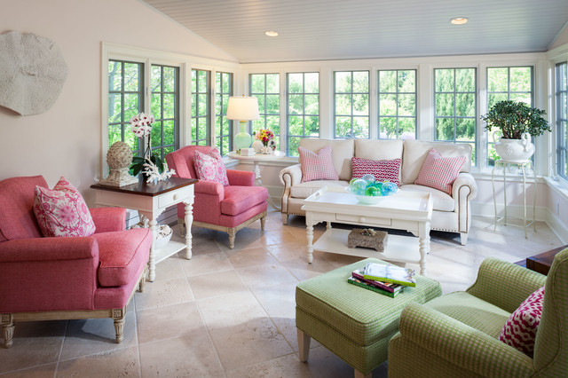 Eclectic Sunroom Boston Farm House eclectic-sunroom