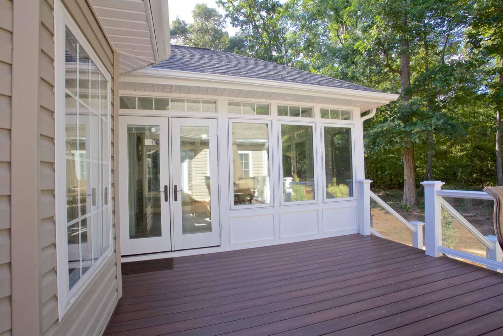 Fountain Inn Sunroom/Deck Addition
