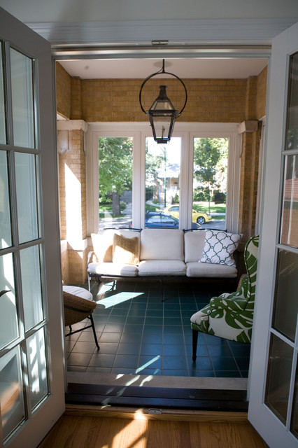 Ravenswood Manor Residence traditional-porch