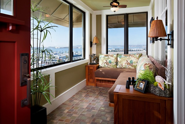Front Porch tropical-sunroom