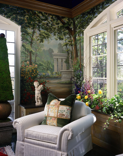 Garden room eclectic sunroom bridgeport by the interior edge for Sunroom garden room