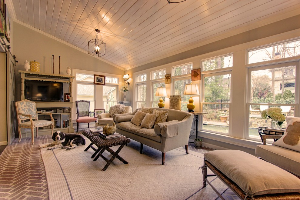 Georgia Indoor/Outdoor Living - Transitional - Sunroom ... on Blue Fox Outdoor Living id=41796