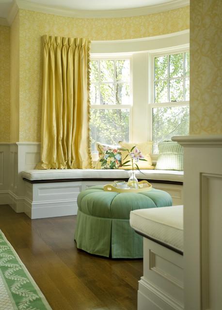 Green Tea traditional-sunroom