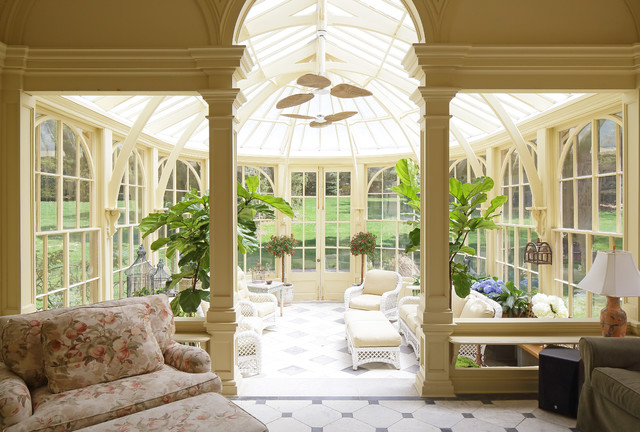 Hudson river turn of the century victorian sunroom for Victorian sunroom designs