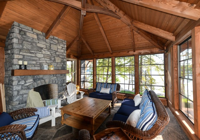 Huntsville Project Rustic Sunroom Other By