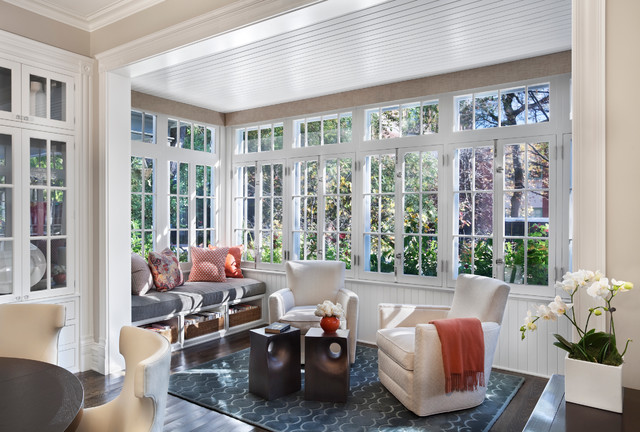 Hyde Park Renovation Transitional Sunroom Chicago By Tom