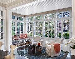 Hyde Park Renovation transitional-sunroom