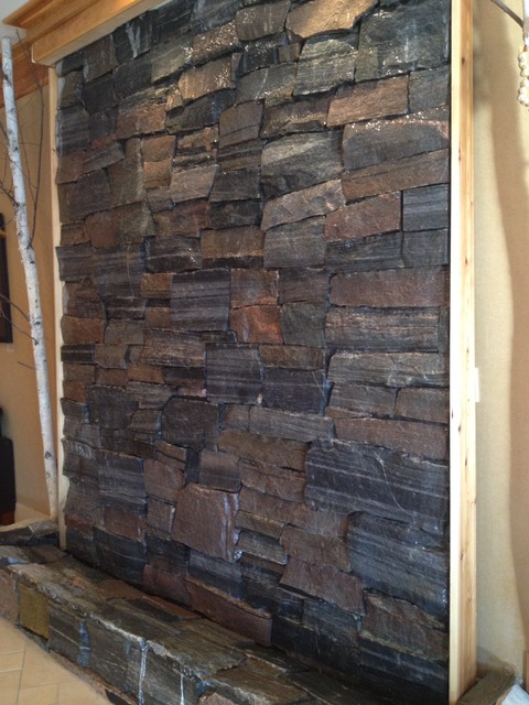 Interior accent wall rustic sunroom other metro by for Sunroom interior walls