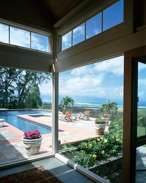 Interior Residential Window Tint Transitional Sunroom