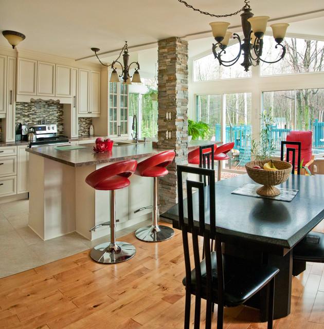 Kitchen/Dining Sunroom Addition modern-sunroom