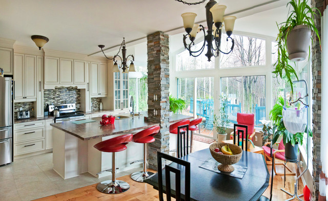 Kitchen Dining Sunroom Addition Modern Sunroom Other Metro By LivingS