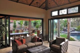 Lanai Bifolding Doors In Santa Rosa Ca Tropical Sunroom Orange County By