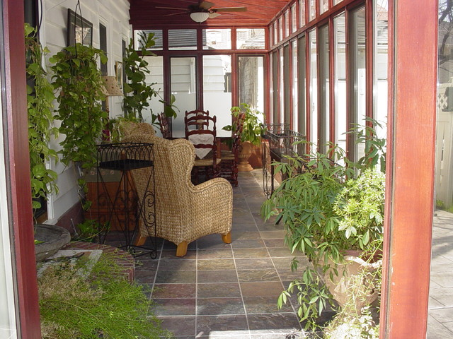 Lean to conservatory interior for Lean to garden room