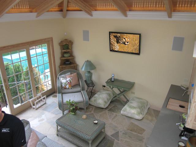 Lemont Whole Home Integration traditional-patio