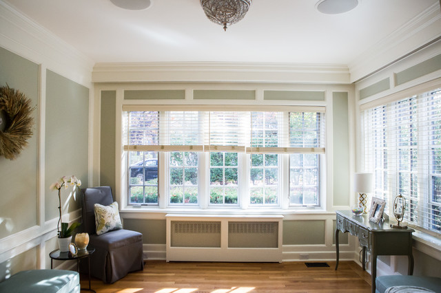 Sunroom - traditional sunroom idea in New York