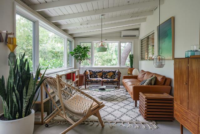 Cabina Armadio Moderna Miami : Miami eclectic ranch house anni veranda miami di bunsa