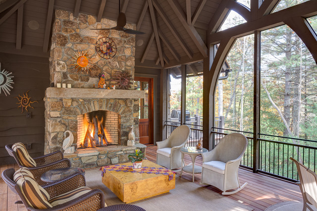Misty Valley Rustic Sunroom Other By Wright Design