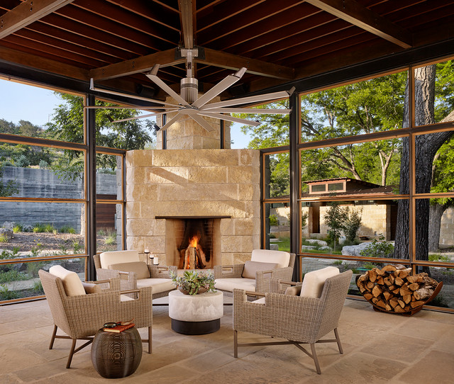 Modern Sunroom: Contemporary