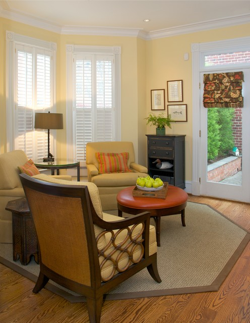 Old Town Alexandria Home Transitional Conservatory Other By Repose Interiors