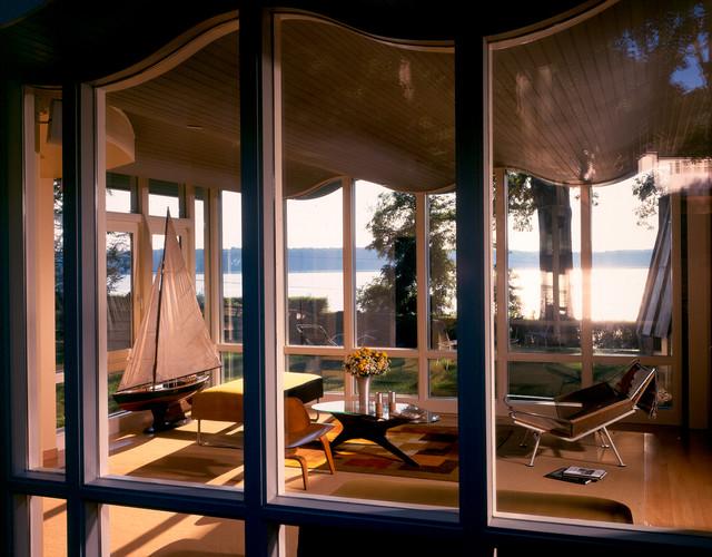 Oneta beach-style-sunroom