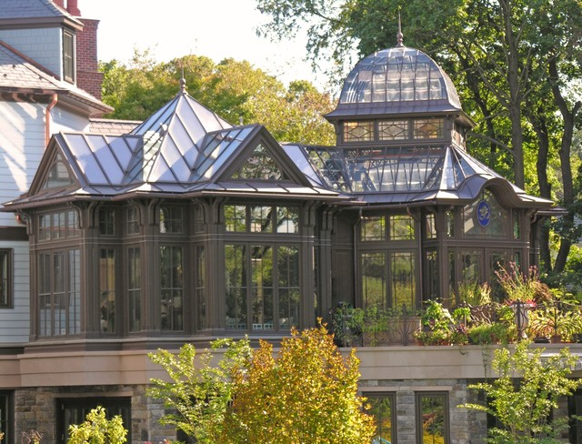 Orchid house conservatory cl sico galer a dallas for House plans with conservatory