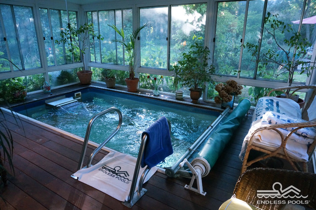 Original Endless Pools® - Midcentury - Sunroom - New York - By