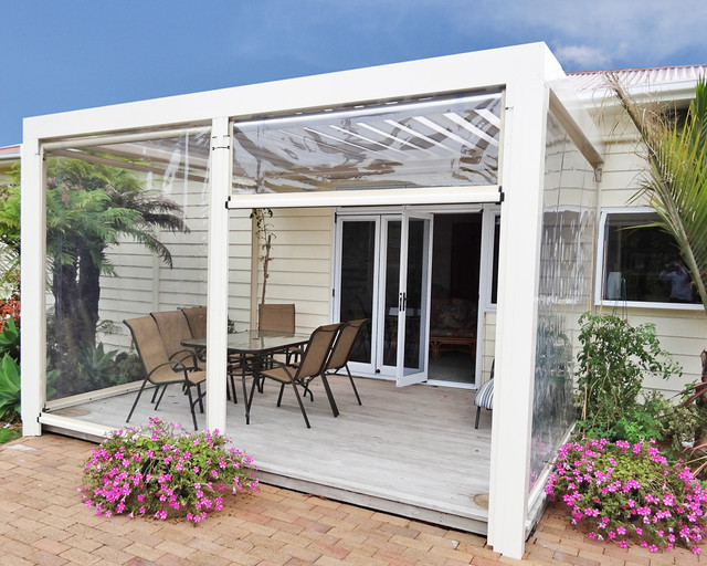 Outdoor Blinds Contemporary Sunroom Sydney By
