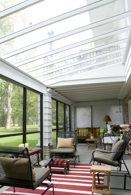 Outdoor Entertaining traditional-sunroom