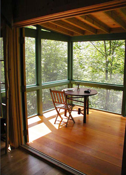Pine Lakes Cabin Rustic Sunroom Minneapolis By